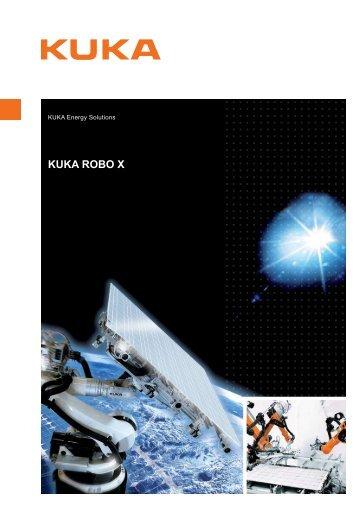 KUKA Robo X datasheet - KUKA Systems