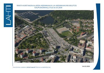 Ranta-Kartanon alue - Lahti