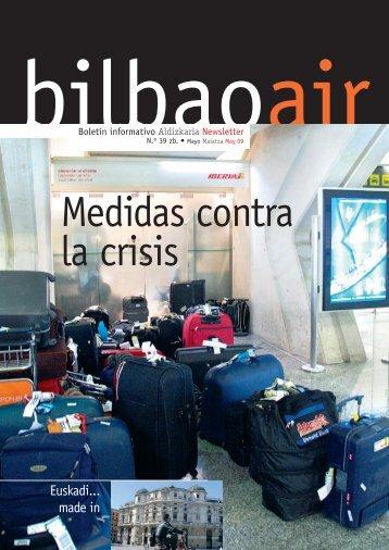 Medidas contra la crisis - Bilbao Air