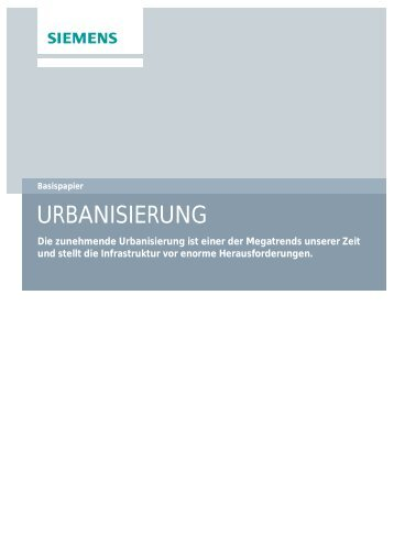 URBANISIERUNG | Basispapier - Press1