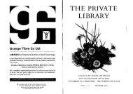 Grange Fibre Co Ltd - The Private Libraries Association