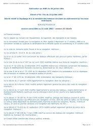 Légifrance - Le service public de l'accès au droit> - FFCK