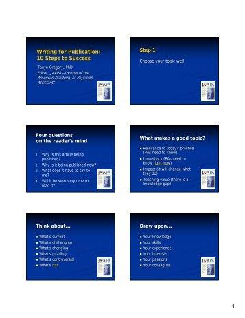 PDF of Tanya Gregory's Slides