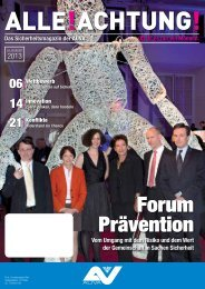 Forum Prävention - Alle!Achtung!