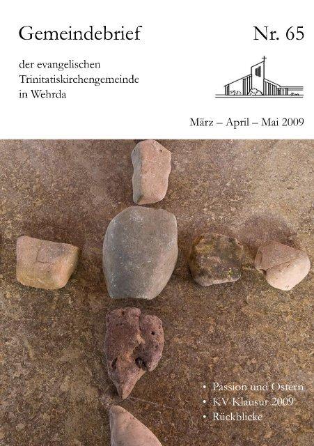 Nr. 65: März - April - Evangelische Trinitatiskirchengemeinde ...
