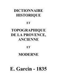 E. Garcin - 1835 - Ciel d'Oc