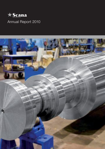 Annual Report 2010 - Scana Industrier ASA