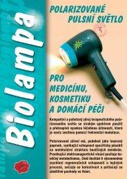 polarizované pulsní světlo pro medicínu, kosmetiku a ... - MediCom