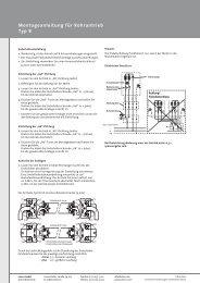 Mont.-Anl. Typ 8 DE - Antriebe 24