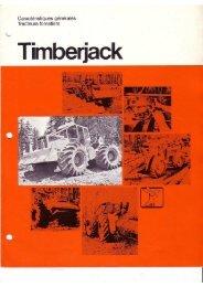 Timberjack Skidder 4x4
