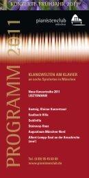 PROGRAMM 2011 - Pianistenclub eV