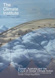 economic self-interest - The Climate Institute