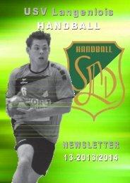 Newsletter 2013/14-13 - USV Langenlois Handball