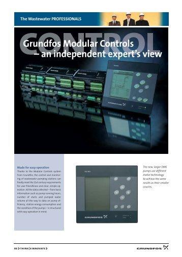 Grundfos Modular Controls – an independent expert's view