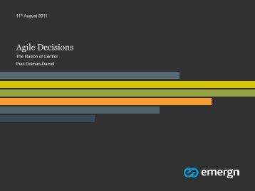 Agile Decisions - Agile Alliance
