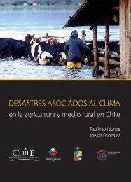 Desastres asociados al clima en la agricultura y medio rural en Chile