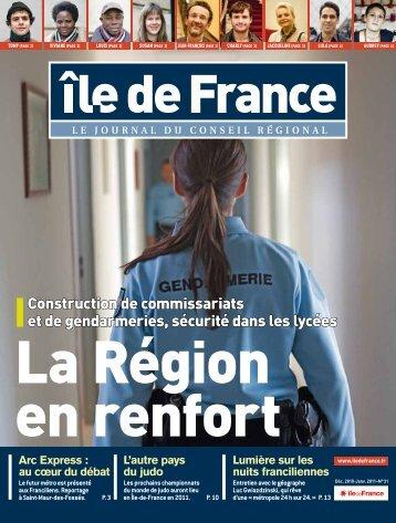 Construction de commissariats et de gendarmeries ... - Ile-de-France