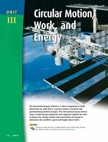 Circular Motion, Work, and Energy Circular ... - PhysicsSource.ca