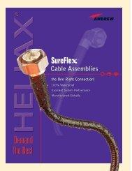 SureFlex™ Cable Assemblies Bulletin - AVW