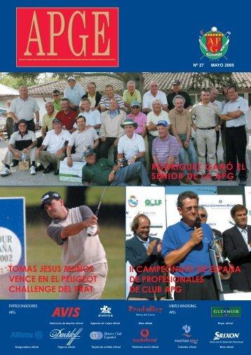 APGE - PGA of Spain