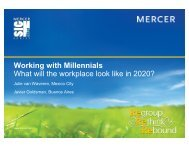 Working with Millennials What will the workplace look like in 2020?