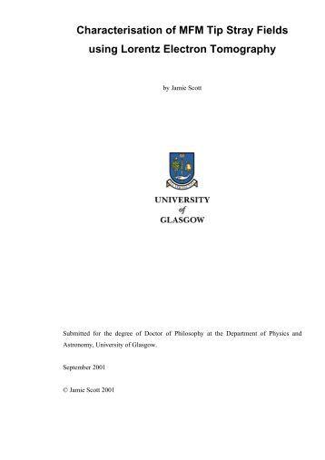 thesis university glasgow