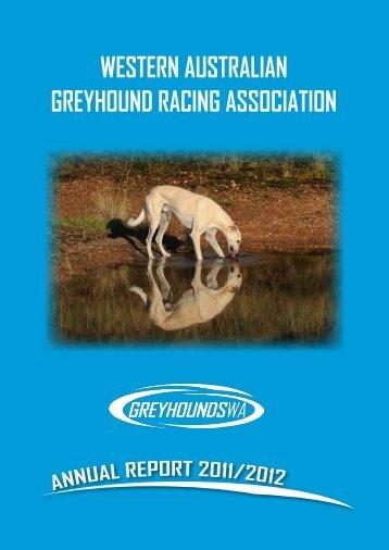 western australian greyhound racing association - Parliament of ...