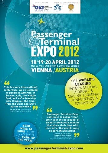 VIENNA /AUSTRIA - Passenger Terminal Expo