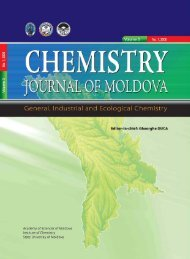 chemistry journal of moldova