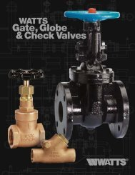 Series F-511 Class 125 Cast Iron Check Valves - Clean My Water