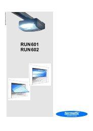 RUN601 RUN602 - tormatic