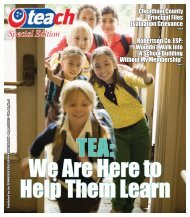 August - Tennessee Education Association