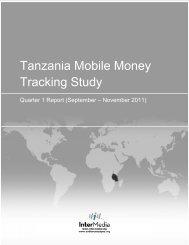 mobile money tracker survey - AudienceScapes