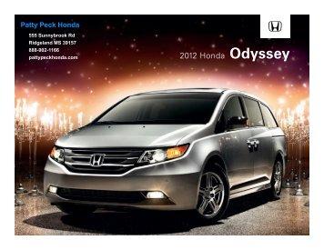 2012 Honda Odyssey - Patty Peck Honda