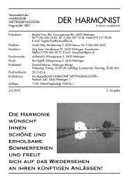 2005 - 2 - Harmonie Wettingen-Kloster
