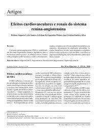 Efeitos cardiovasculares e renais do sistema renina-angiotensina