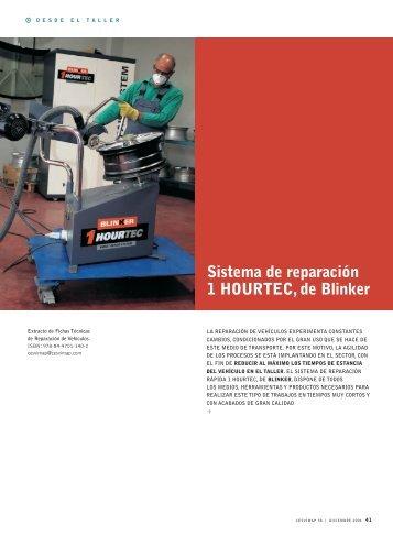 Sistema de reparación 1 HOURTEC, de Blinker - Revista Cesvimap