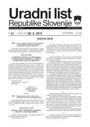 Uradni list RS - 037/2011, Uredbeni del - Ministrstvo za gospodarski ...
