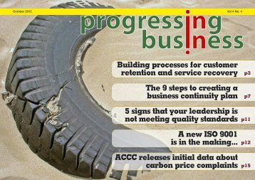 The 9 steps to creating a business continuity plan -  Progressing ...