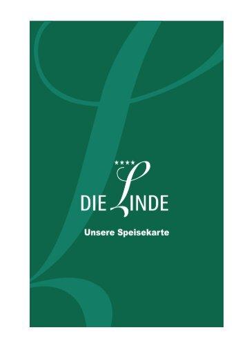 Speisekarte, Die Linde.pdf - Wohin heute