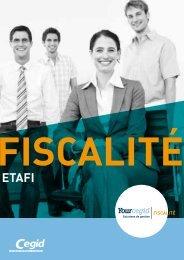 YOuRCEgID FISCALITÉ - CEGID On Tour Finance - Cegid.fr