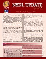 April 2010 - NSDL