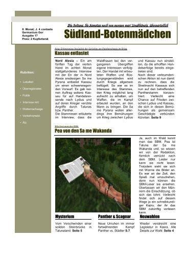 17. Ausgabe - Oase der Vier Palmen