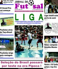 Seleção do Brasil passará por teste na era Pipoca ! - Jornal do Futsal