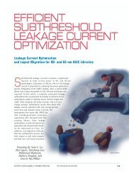 Leakage Current Optimization and Layout Migration ... - IEEE Xplore