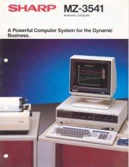 MZ-3541 Business Computer - 1000 BiT