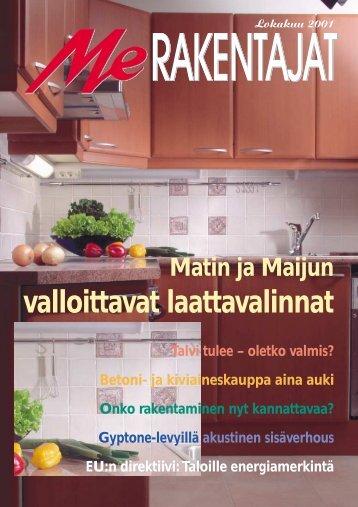 Matin ja Maijun valloittavat laattavalinnat - Rakentaja.fi