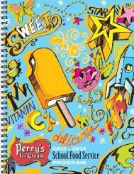 Choose Sensibly - Perry's Ice Cream
