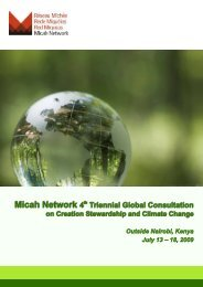 Consultation Flyer - Micah Network
