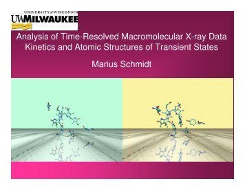 Analysis of Time-Resolved Macromolecular X-ray Data ... - CARS